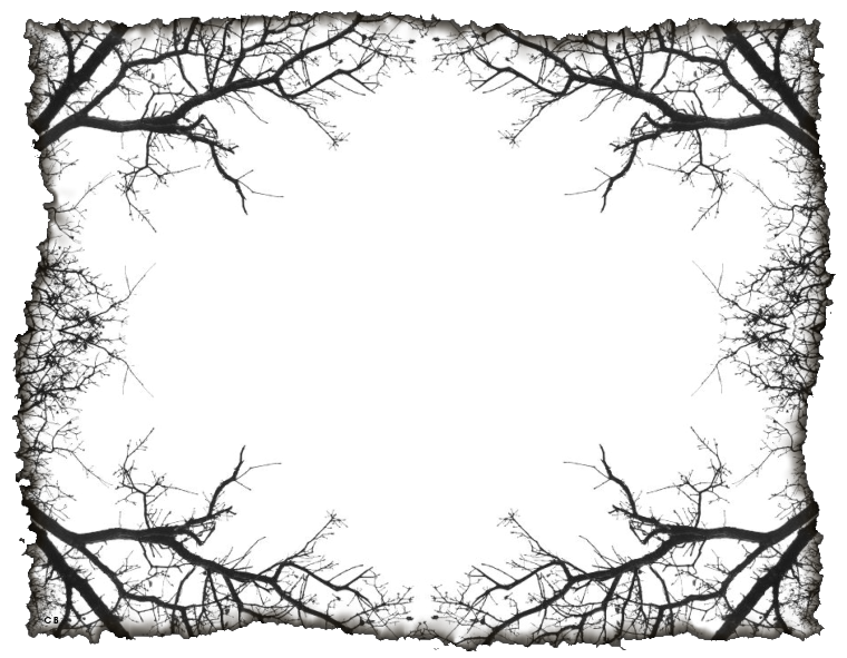 Clipart of spooky halloween frames graphic royalty free stock Маски