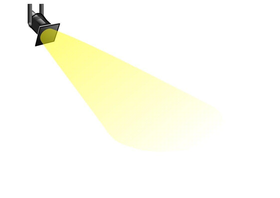 Clipart of spotlight jpg black and white stock Free clipart spotlight 1 » Clipart Portal jpg black and white stock