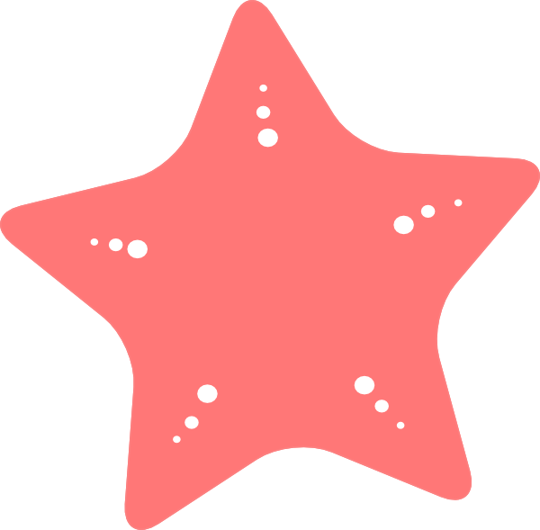 Clipart star fish clipart black and white download Starfish Clip Art at Clker.com - vector clip art online, royalty ... clipart black and white download