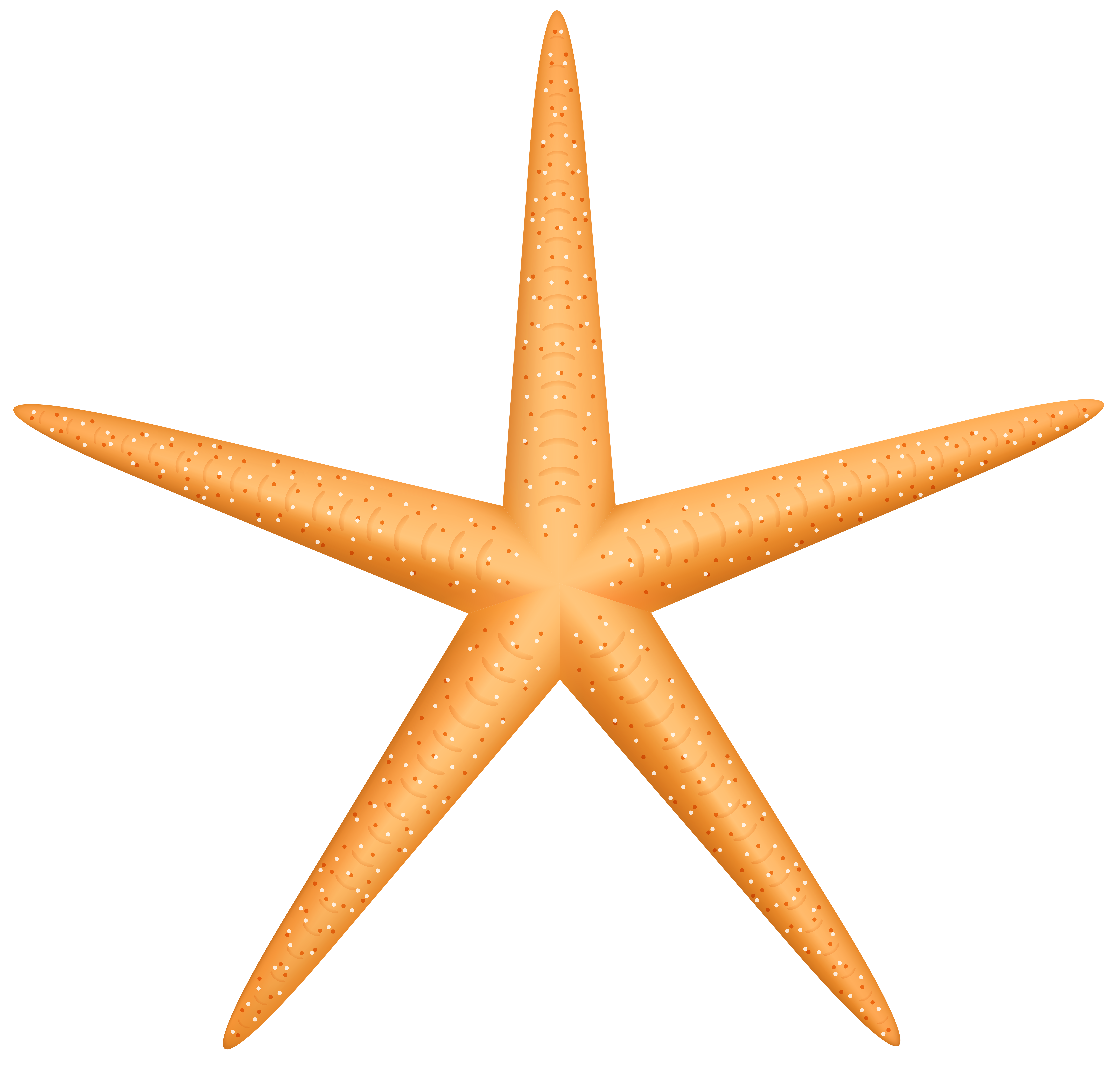Clipart star fish graphic black and white Yellow Starfish PNG Clip Art - Best WEB Clipart graphic black and white
