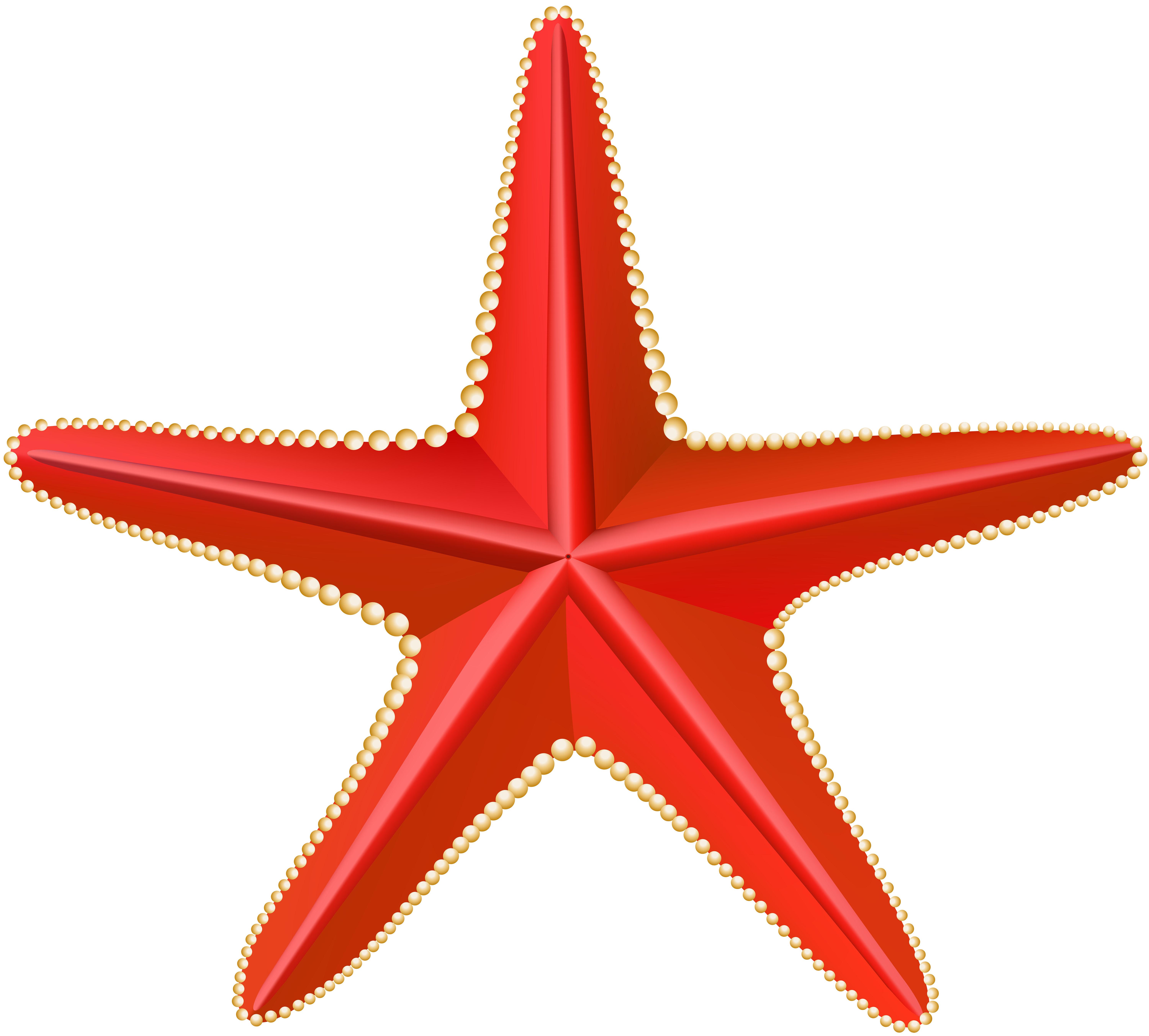 Clipart of star fish clipart library stock Red Starfish Transparent Clip Art PNG Image | Gallery Yopriceville ... clipart library stock