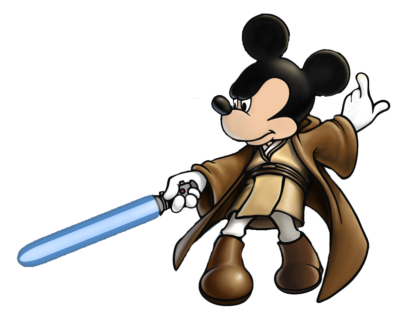 Star wars jedi clipart black and white