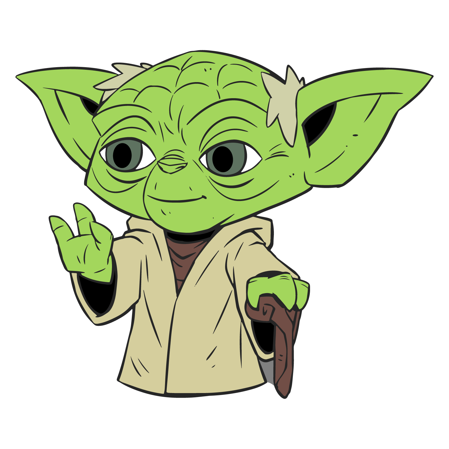 Star wars clipart luke skywalker clip royalty free library Clipart Of Yoda at GetDrawings.com | Free for personal use Clipart ... clip royalty free library