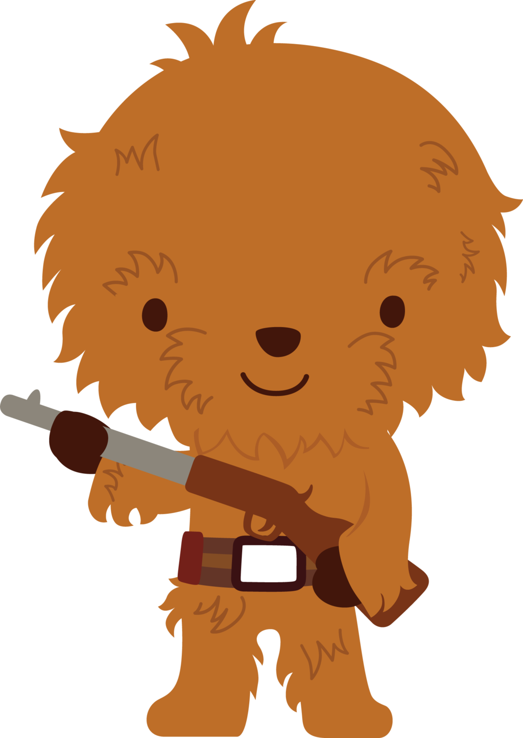 Chewbacca by chrispix deviantart. Disney star clipart