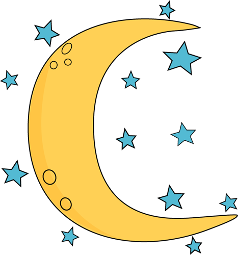 Clipart of stars and moon clip library stock Free Moon And Stars Clipart, Download Free Clip Art, Free Clip Art ... clip library stock