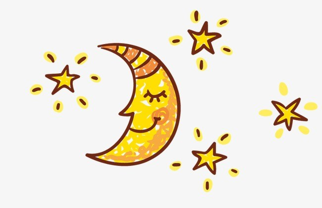 Clipart of stars and moon jpg stock Stars and moons clipart 6 » Clipart Portal jpg stock