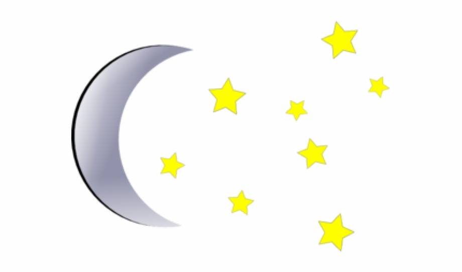 Clipart of stars and moon clipart freeuse download Moon And Stars Clipart Png - moon and stars png, Free PNG Images ... clipart freeuse download