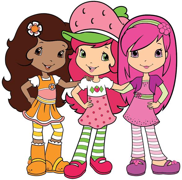 Strawberry shortcake images clipart banner free Strawberry Shortcake Berry Bitty Adventures Clip Art | Cartoon Clip Art banner free