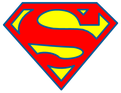 Clipart of superman image transparent download Cute Silhoutte Superman Clipart - Clipart Kid image transparent download