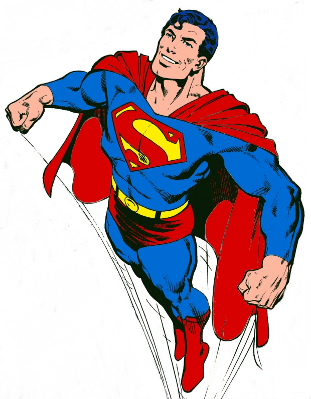 Clipart of superman. Free images clipartfest