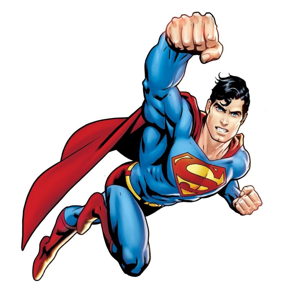 Clipartion com cliparti. Clipart of superman