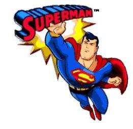 Clipart of superman. Clip art free clipartfest
