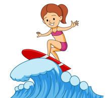 Surf clipart png freeuse stock Surfing Clipart Free | Free download best Surfing Clipart Free on ... png freeuse stock