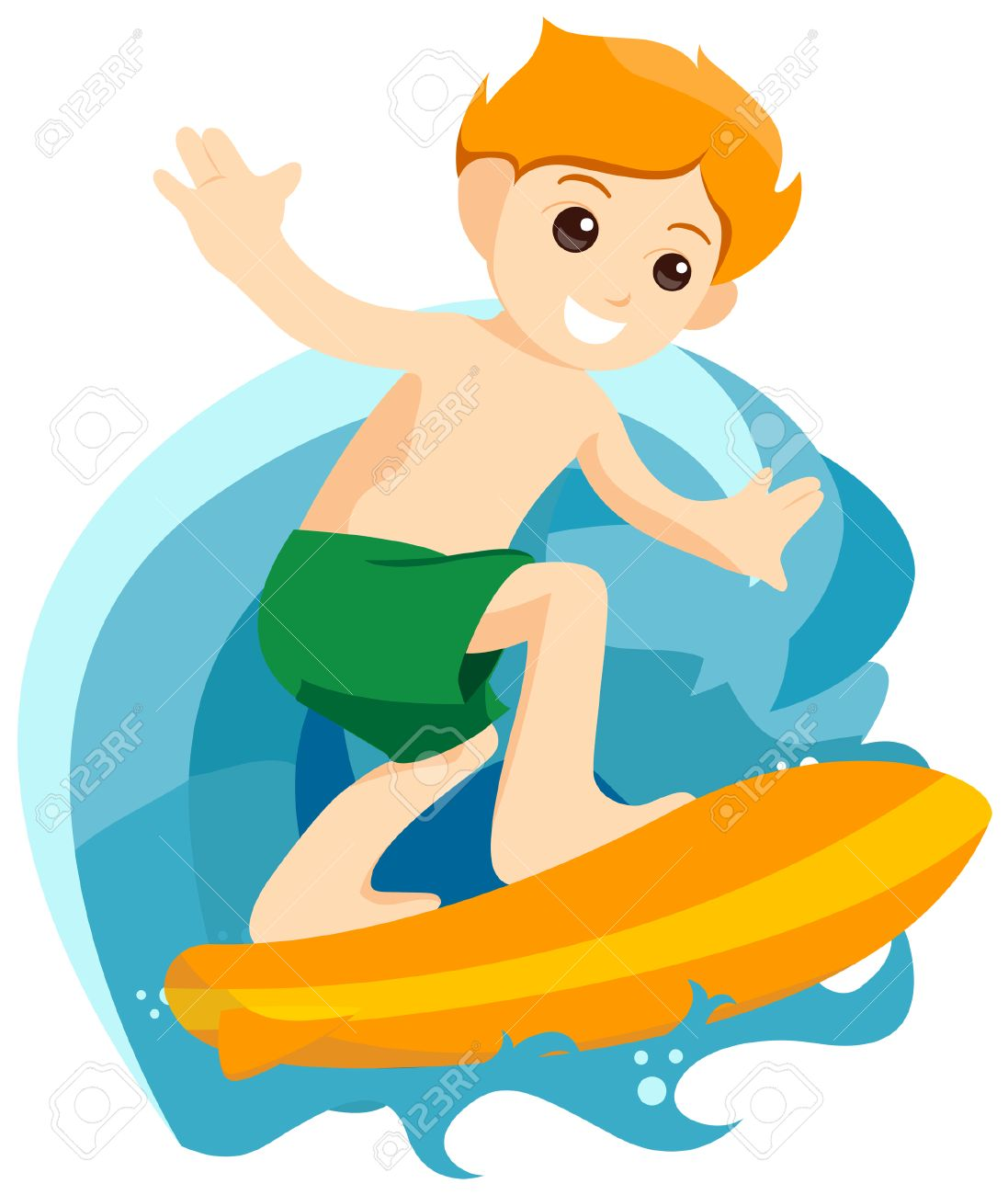Clipart of surfing png Boy Surfing » Clipart Station png