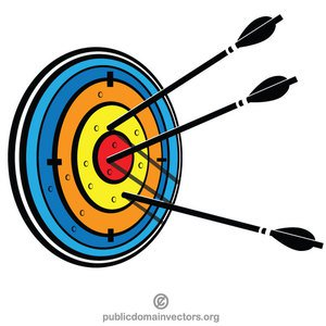Taget clipart picture black and white stock 93 target clip art bullseye | Public domain vectors picture black and white stock