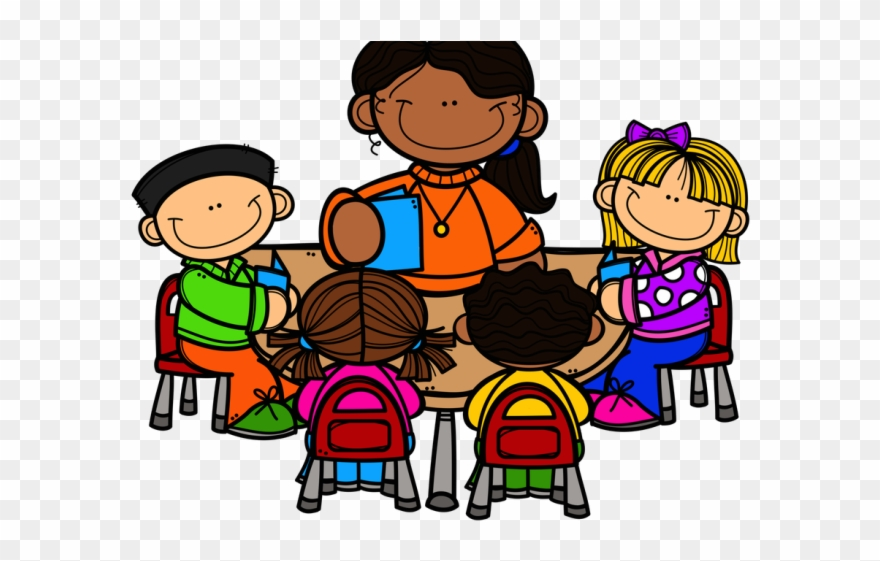 Clipart of teacher and students jpg freeuse Group Of Teachers Clipart - Teacher Working With Students Clipart ... jpg freeuse