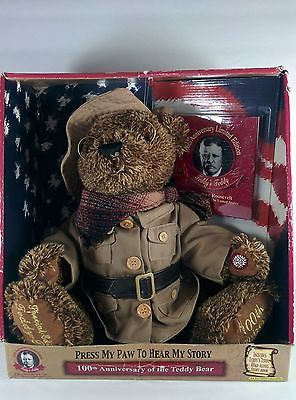 Clipart of teddy bear for theodore roosevelt png download 100th Anniversary Dan Dee Limited Edition Theodore Roosevelt Teddy ... png download