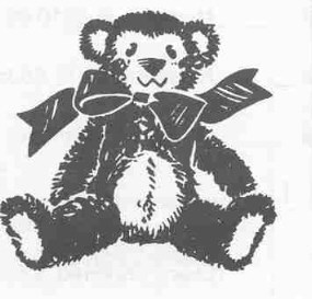 Clipart of teddy bear for theodore roosevelt graphic black and white Teddy Bear Picnic - Theodore Roosevelt Inaugural National Historic ... graphic black and white