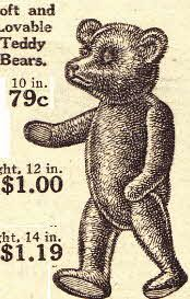 Clipart of teddy bear for theodore roosevelt png free This 1920\'s Teddy bear was named after the United States president ... png free
