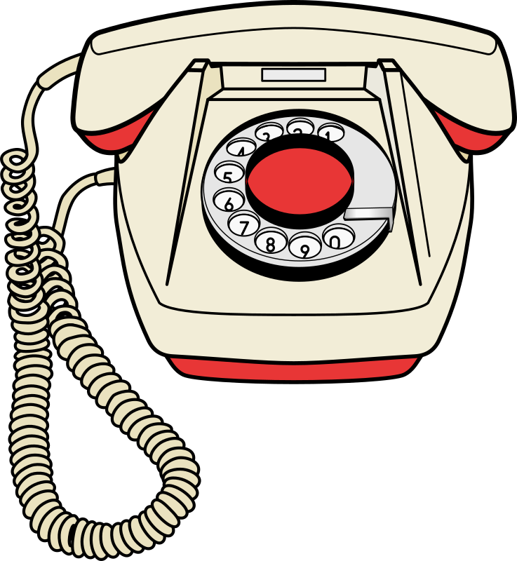 Clipart - Telephone set Bs-23 jpg