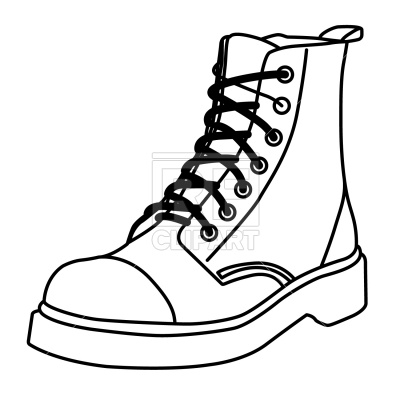 Clipart of the bottom of a boot jpg black and white Shoe Outline Clipart | Free download best Shoe Outline Clipart on ... jpg black and white