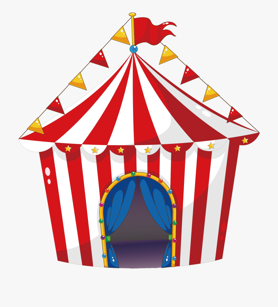 Clipart of the circus and tent carnival banner Tent Circus Carnival Illustration - Carnival Tent #83634 - Free ... banner