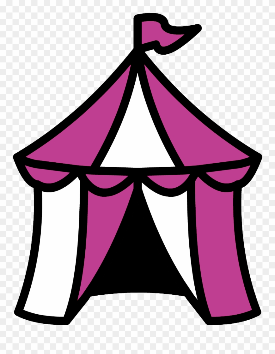 Clipart of the circus and tent carnival vector transparent library Carnival Circus Red Set Stock Vector - Circus Tent Clipart (#847834 ... vector transparent library