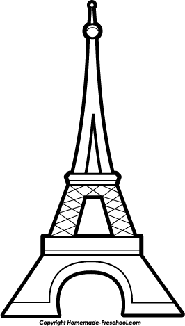 Clipart of the eiffel tower image freeuse download Free eiffel tower clipart 2 | Preschool Curriculum Ideas | Eiffel ... image freeuse download