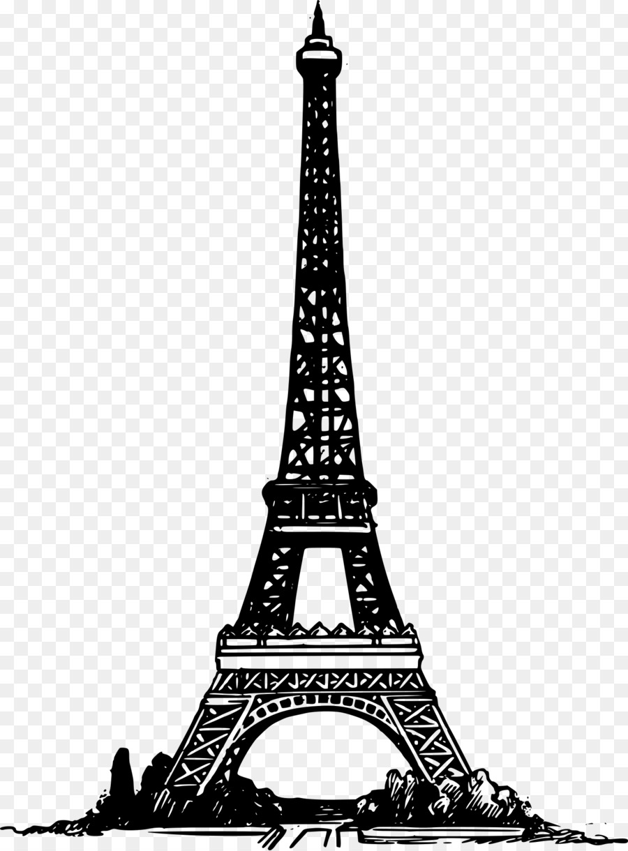 Clipart of the eiffel tower banner royalty free stock Eiffel Tower Drawing clipart - Drawing, Font, transparent clip art banner royalty free stock