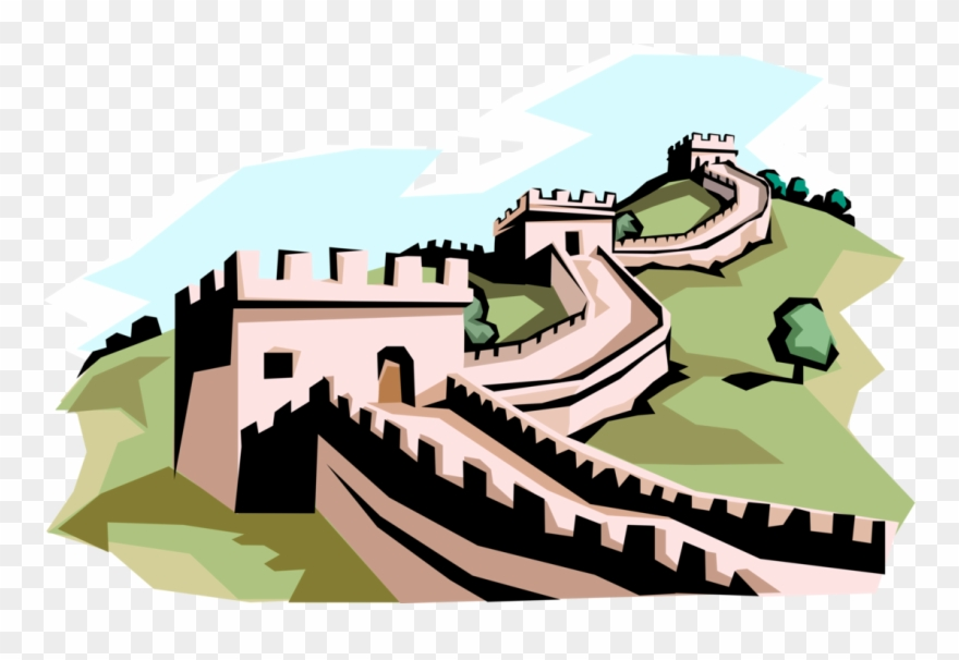 Clipart of the great wall of china clip free download Great Wall Of China Clipart Png Transparent Png (#2497478) - PinClipart clip free download