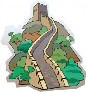 Clipart of the great wall of china clipart free stock The Great Wall of China | Fun with Foreign Language clipart free stock
