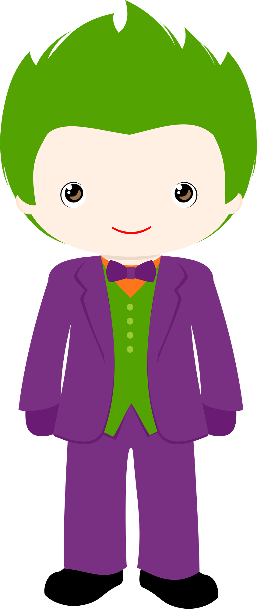 Joker clipart batman