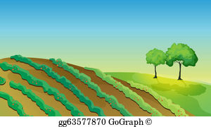 Clipart of the land in the west png black and white stock Land Clip Art - Royalty Free - GoGraph png black and white stock