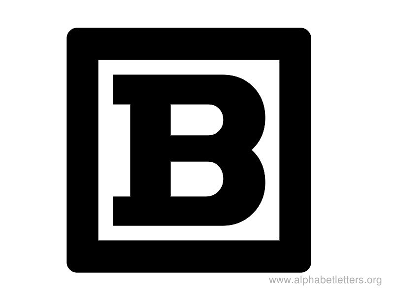 Clipart of the letter b jpg black and white Letter B | Free Download Clip Art | Free Clip Art | on Clipart Library jpg black and white