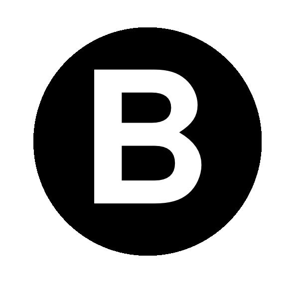 Letter b clipart clip art download White Letter B Clip Art at Clker.com - vector clip art online ... clip art download