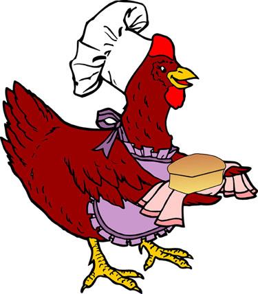 Clipart of the red hen jpg freeuse stock Clip art of a red hen | Clipart Panda - Free Clipart Images jpg freeuse stock