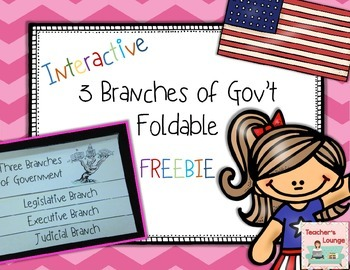 Clipart of the three branches of government clip art transparent Three Branches of Government Foldable FREEBIE clip art transparent