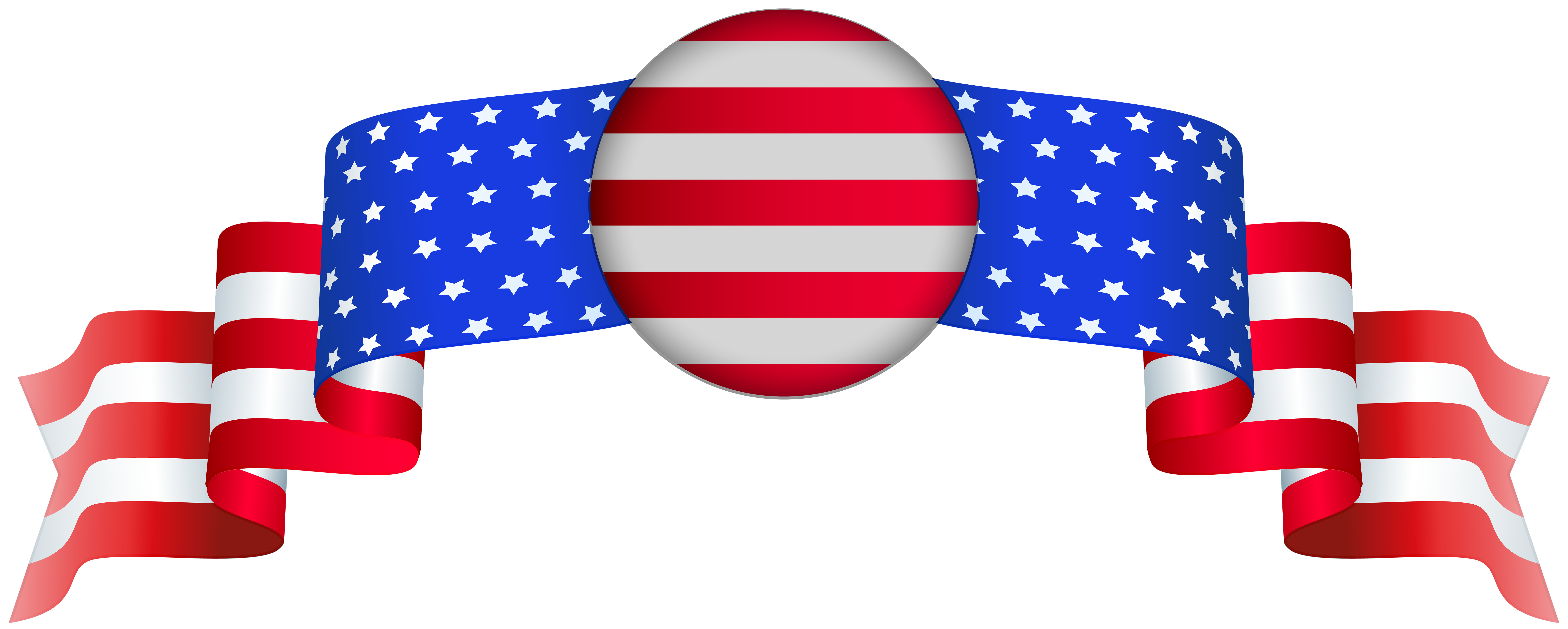 Clipart of the united states graphic library download USA Banner PNG Clip Art Image | Gallery Yopriceville - High-Quality ... graphic library download