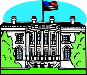 White house free clipart svg freeuse stock The White House In Washington Dc Royalty Free Clipart Picture svg freeuse stock