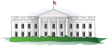 Clipart of the white house in washington d c freeuse White House Clip Art & Look At Clip Art Images - ClipartLook freeuse