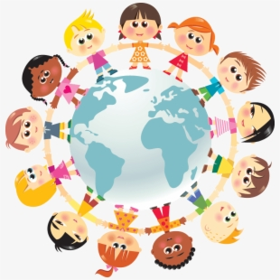 Clipart of the world love vector freeuse library Children Of The World Clipart - Love Children Around The World ... vector freeuse library