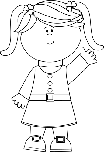 Clipart of three little girls playing black and white jpg stock Little girl black and white clipart clipart images gallery for free ... jpg stock