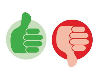 Clipart of thumbs up and thumbs down clip art royalty free stock Thumbs up and thumbs down clipart | ClipartMonk - Free Clip Art Images clip art royalty free stock