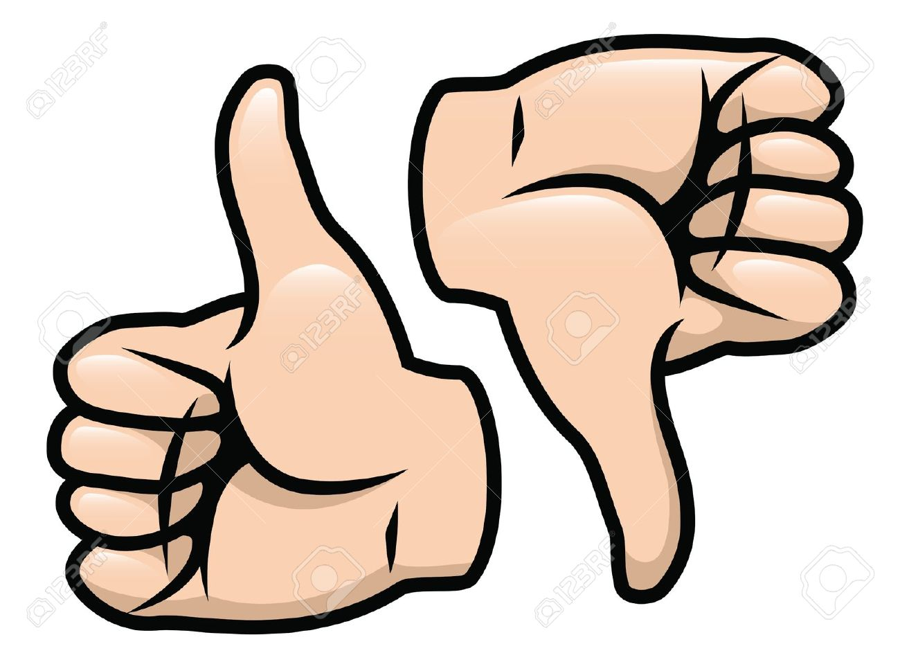 Clipart of thumbs up and thumbs down banner transparent Clipart of thumbs up and thumbs down - ClipartFest banner transparent