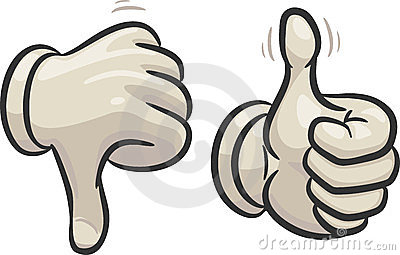 Clipart of thumbs up and thumbs down clip art free library Thumbs Up Thumbs Down Stock Illustrations – 340 Thumbs Up Thumbs ... clip art free library
