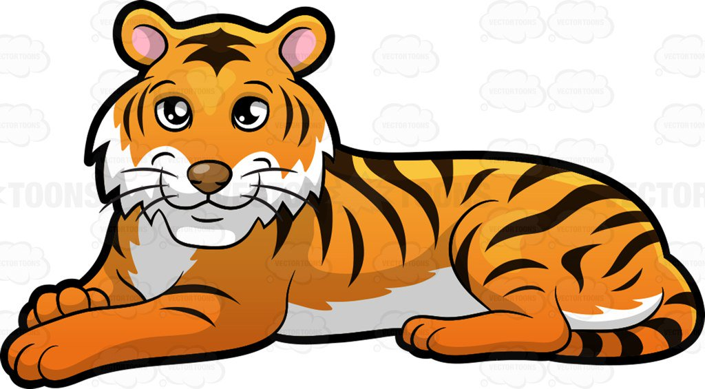 Tiger in clipart clipart freeuse Tiger clipart » Clipart Station clipart freeuse