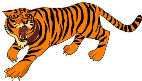 Tiger in clipart png black and white download Free Tiger Cliparts, Download Free Clip Art, Free Clip Art on ... png black and white download