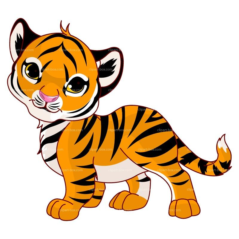 Tiger on a rock clipart vector stock Tiger Clip Art | Clipart Panda - Free Clipart Images | Crafty Things ... vector stock