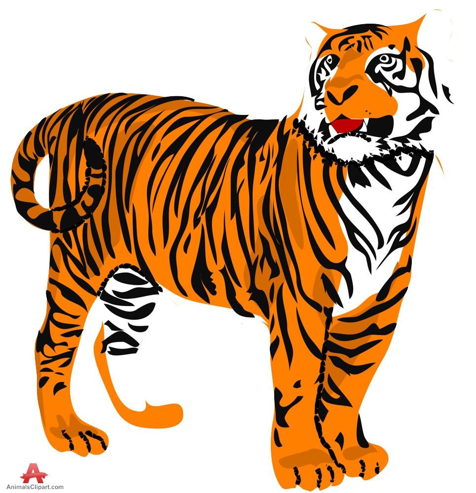 Tiger clipart mean jpg freeuse download Tiger clip art clipart photo 3 - Cliparting.com jpg freeuse download