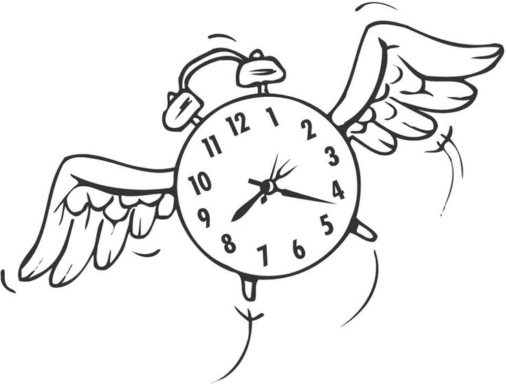 Clipart of time clip art black and white Free Time Flies Cliparts, Download Free Clip Art, Free Clip Art on ... clip art black and white